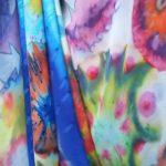 Mooie zijden sjaals kleurrijke prachtige sjaal Nice silk shawls Halle Design stylist