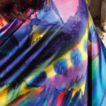 Summertime fashion - Exclusive colorful shawls Halle Design