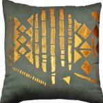 Home textile Halle Design Kaki cushion