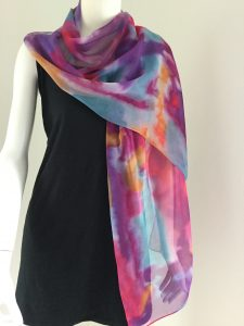 Zijden sjaals online Halle Design