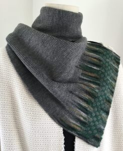 Reuse of haute couture textile - Halle Design scarf