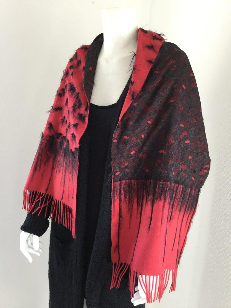 Handmade scarf Henna Halle Design