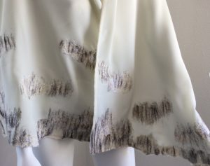 Handmade scarf - Off white shawl Halle Design