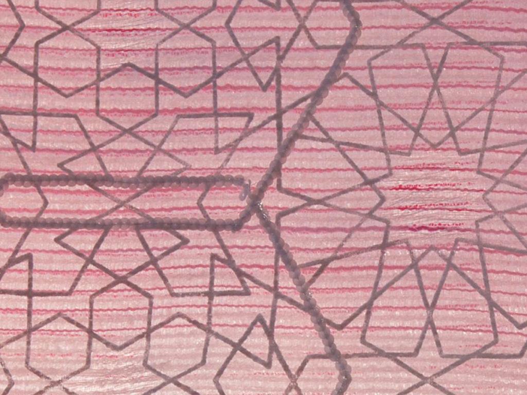 home-textile-designs-pink white stripe