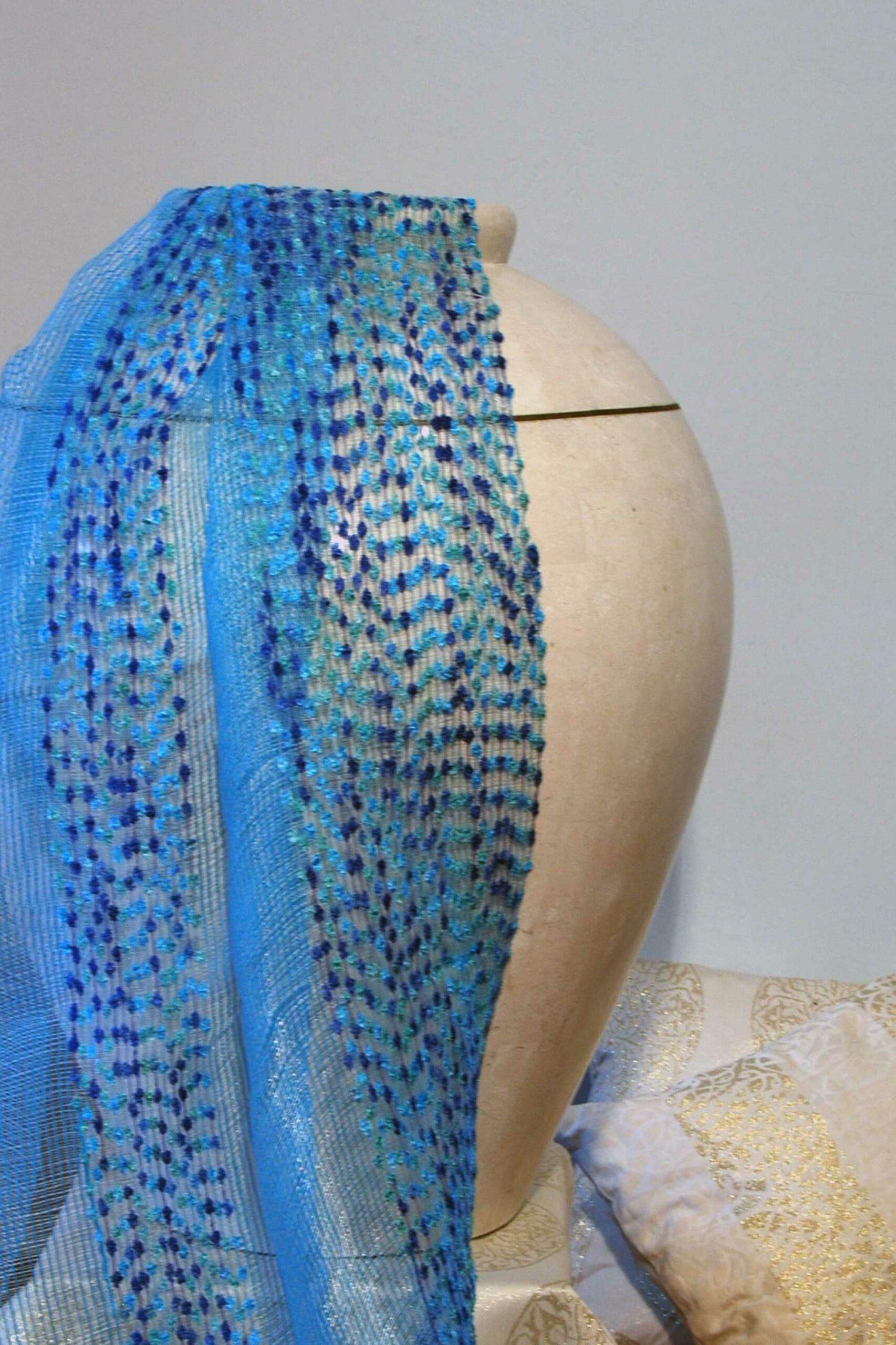 Home textile blue