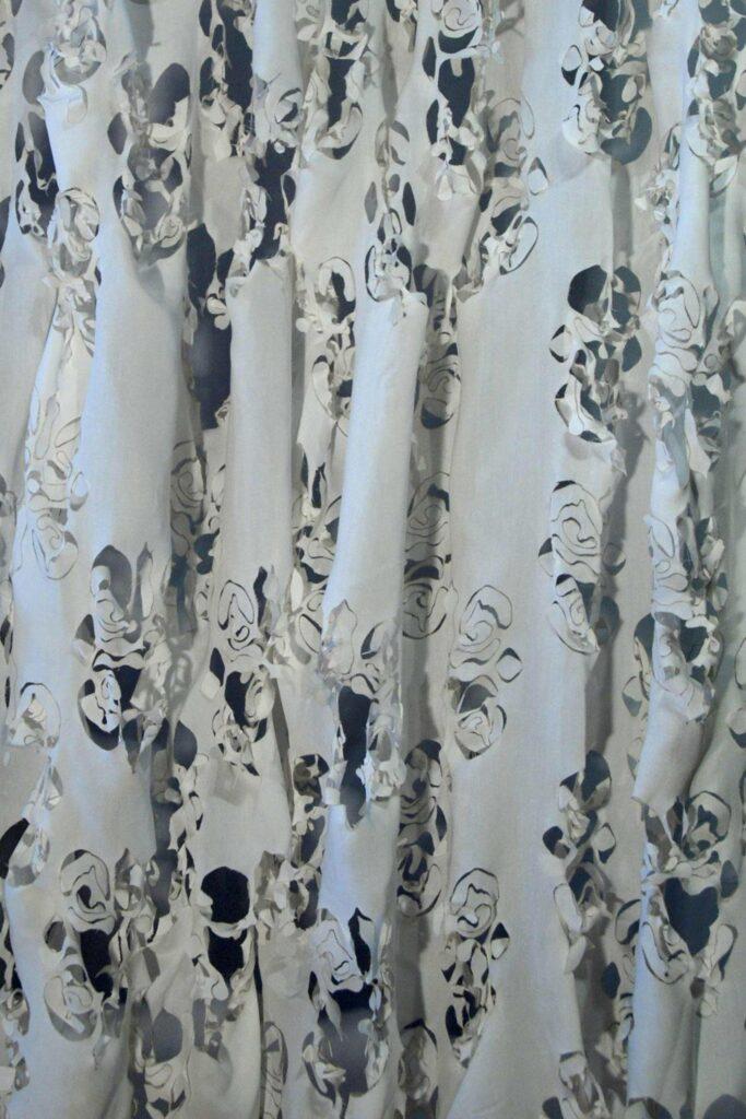 home textile-laser textile art