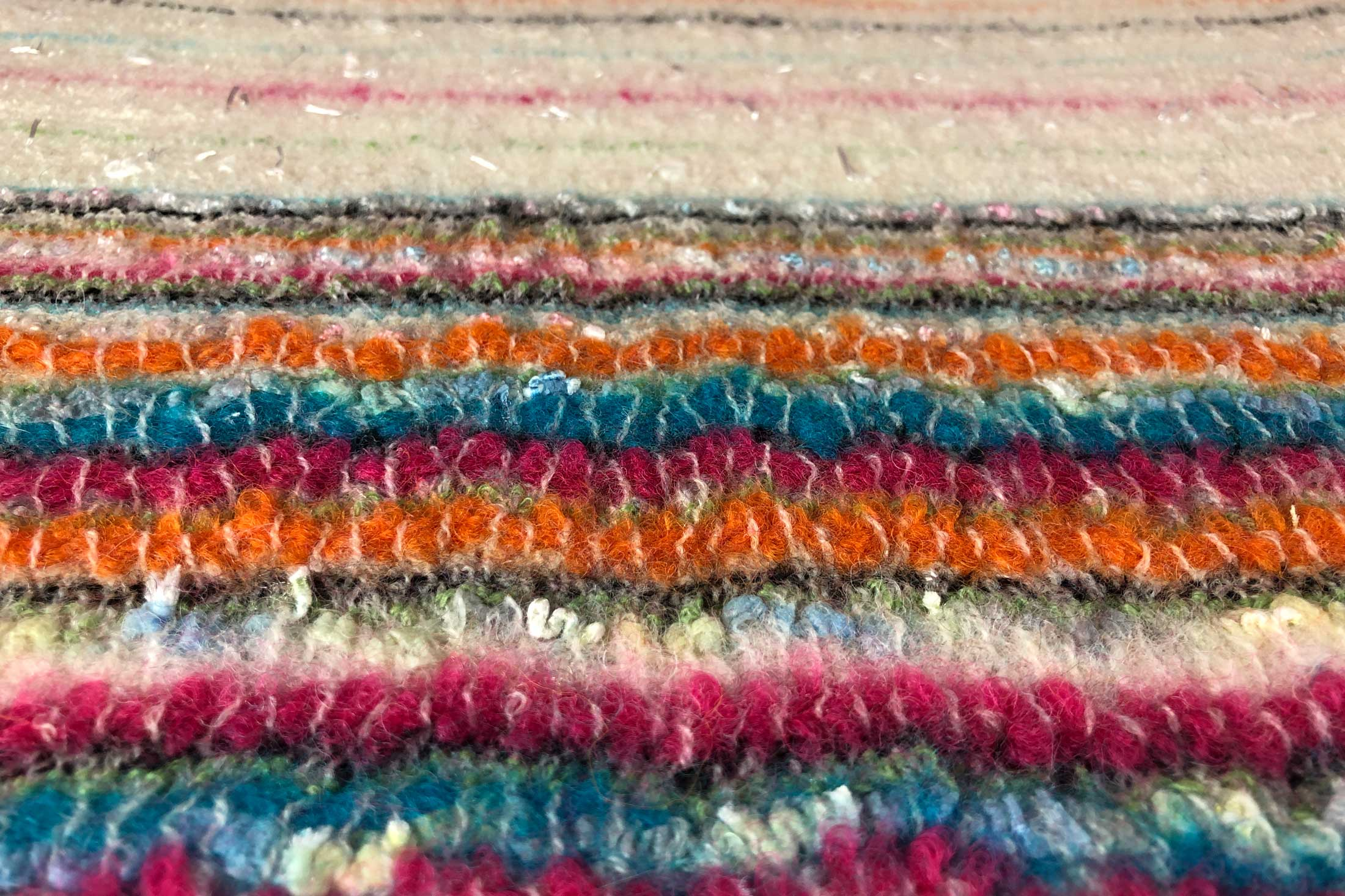 textile design hand weaving colorful